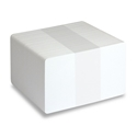 Picture of  White standard PVC plastic cards blank - ISO-7810 (CR80)